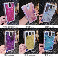 For Samsung Galaxy S6 Edge Plus Case Diamond Sand Stars Water Inside Cool Down Phone Fashion