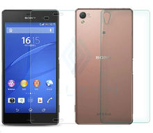 2Pcs/Lot 9H 0.3mm 2.5D Front+Back Tempered Glass For Sony Xperia Z3 Compact Z Z2 Z4 Z5 Premium AntiExplosion Screen Protector