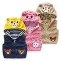 Baby bear animal vest the new winter 2016male  female children's wear children's wear children to add more velvet vest wt - 5486