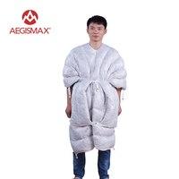 AEGISMAX Ultralight Envelope Sleeping Bag 850FP 95% Goose Down 290g Fishing Hiking Camping Outdoor Winter Tent Sleeping Bag