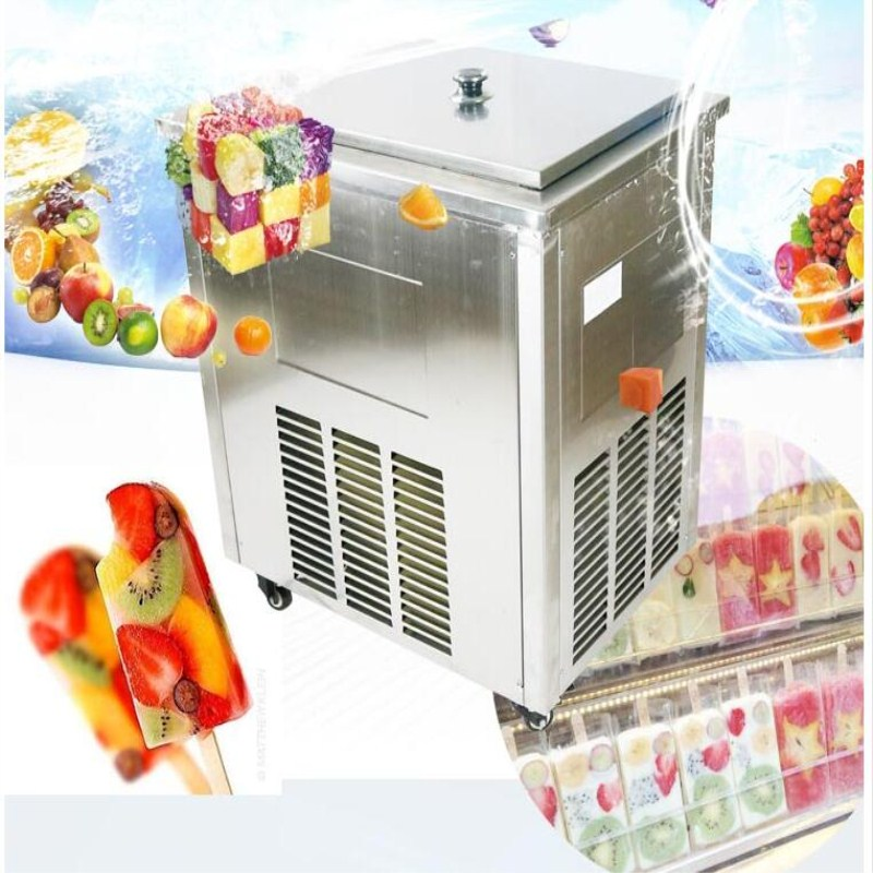 intelligent control Commercial Popsicle machine,220V/R22 ice lolly maker machine,multi-function freezer with ice lolly mould