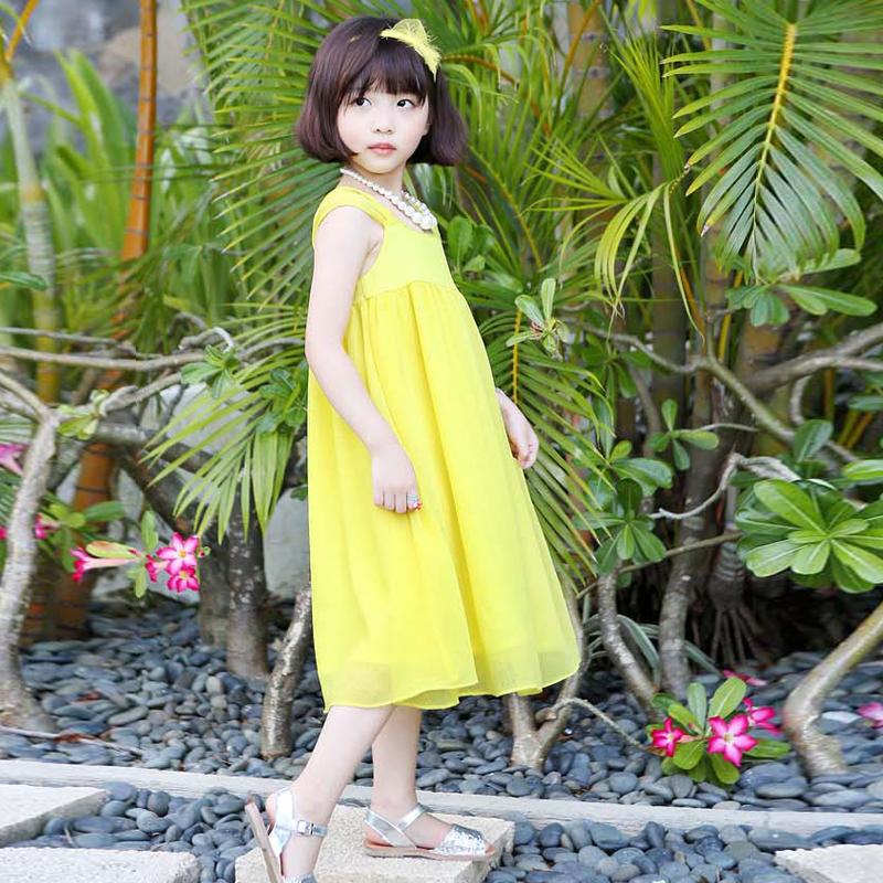 vestidos de las muchachas lindo original de la ropa de algodn nios del verano del