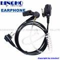 air tube PTT Mic Earpiece Interphone Earphone Walkie Talkie Headset for GP88 GP300 GP2000 CT150 P040 Radio