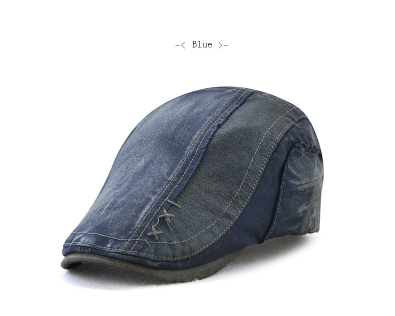 Detail Feedback Questions about JAMONT Denim Beret Caps Embroidery ... f55b0ae042f5