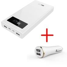 Besiter Puissance Banque 20000 mah Soutien Charge Rapide Pour Téléphones Batterie Externe Packs avec LCD Écran pour xiaomi redmi 4x Samsung