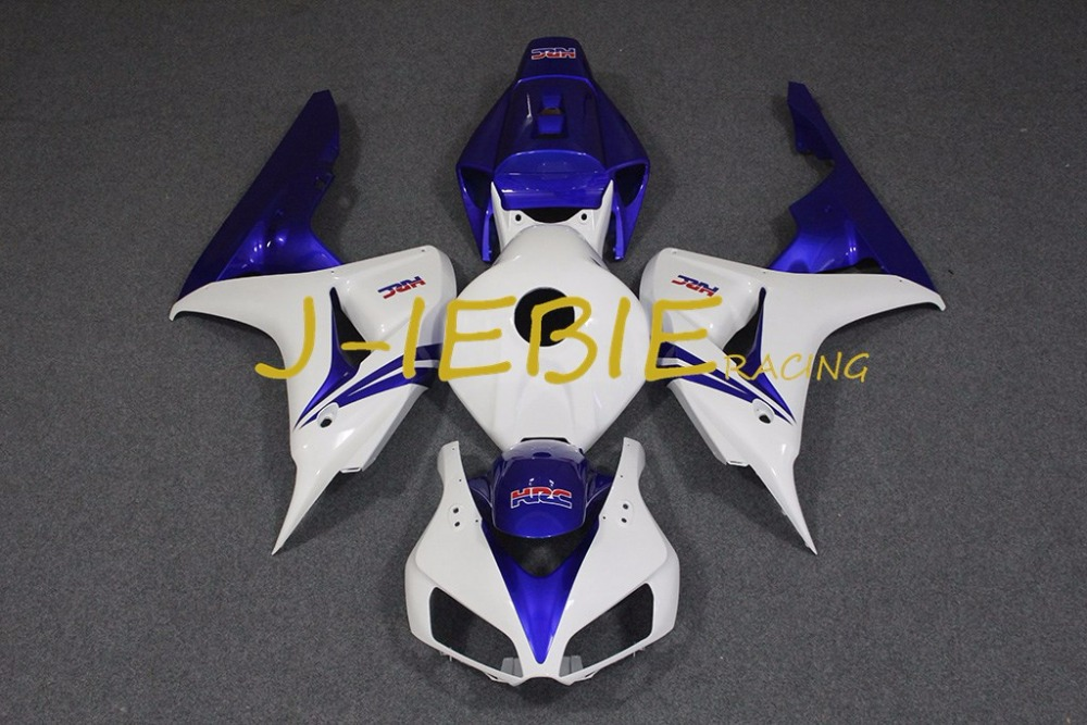 White blue Injection Fairing Body Work Frame Kit for HONDA CBR1000RR CBR 1000 CBR1000 RR 2006 2007