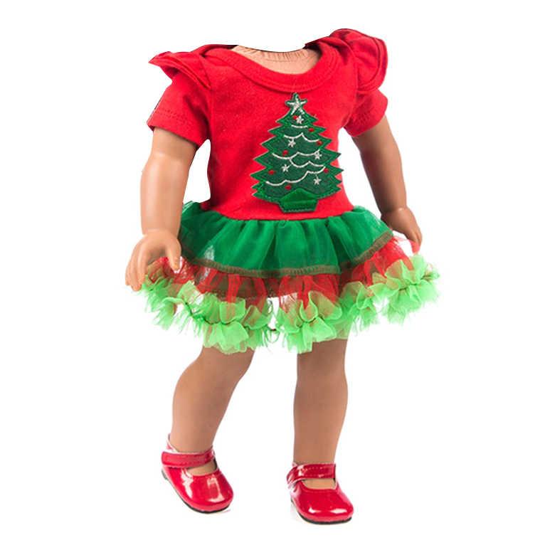 18 Polegada Americano Boneca Linda Fantasia Jeans Camisa Saia Plissada Vestido 1Pcs Terno Fit 43 centímetros Boneca Da Menina Do Bebê para As Crianças O Melhor Presente