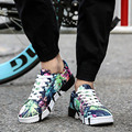 Zapatos camuflaje Hombres Krasovki Slipony 2017 Marca de Lujo de Los Hombres Entrenadores Zapatos Masculinos Gimnasio Gumshoe Obuv Runas Calzado Masculino Boty X230