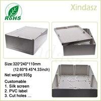 320 240 110mm Large Waterproof Electronic Project Box Plastic Box Plastic Electronic Enclosure