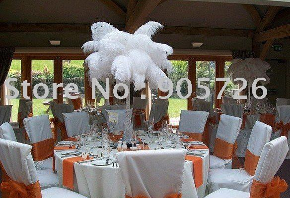 Free Shipping 100pcs/lot 20-22 inches natural ostrich feather for wedding party centerpiece decoration,any color is available