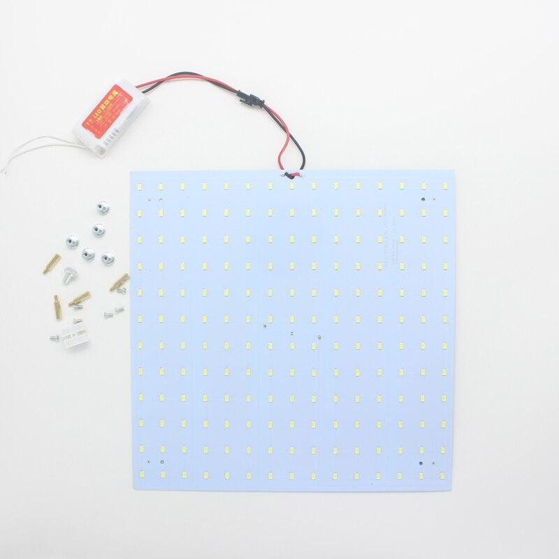 10 шт. 180 265 В LED Панель лампа квадратный 50 Вт 5730 Магнитная Светодиодный потолочный Панель свет алюминиевые пластины доска