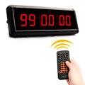 1.5 дюймов Светодиодный Дисплей HH: MM: SS LED Часы Обратного Отсчета Подсчитать Таймер Обратного Отсчета Для Речи Для Использования секундомер С Дистанционным Тренажерный Зал