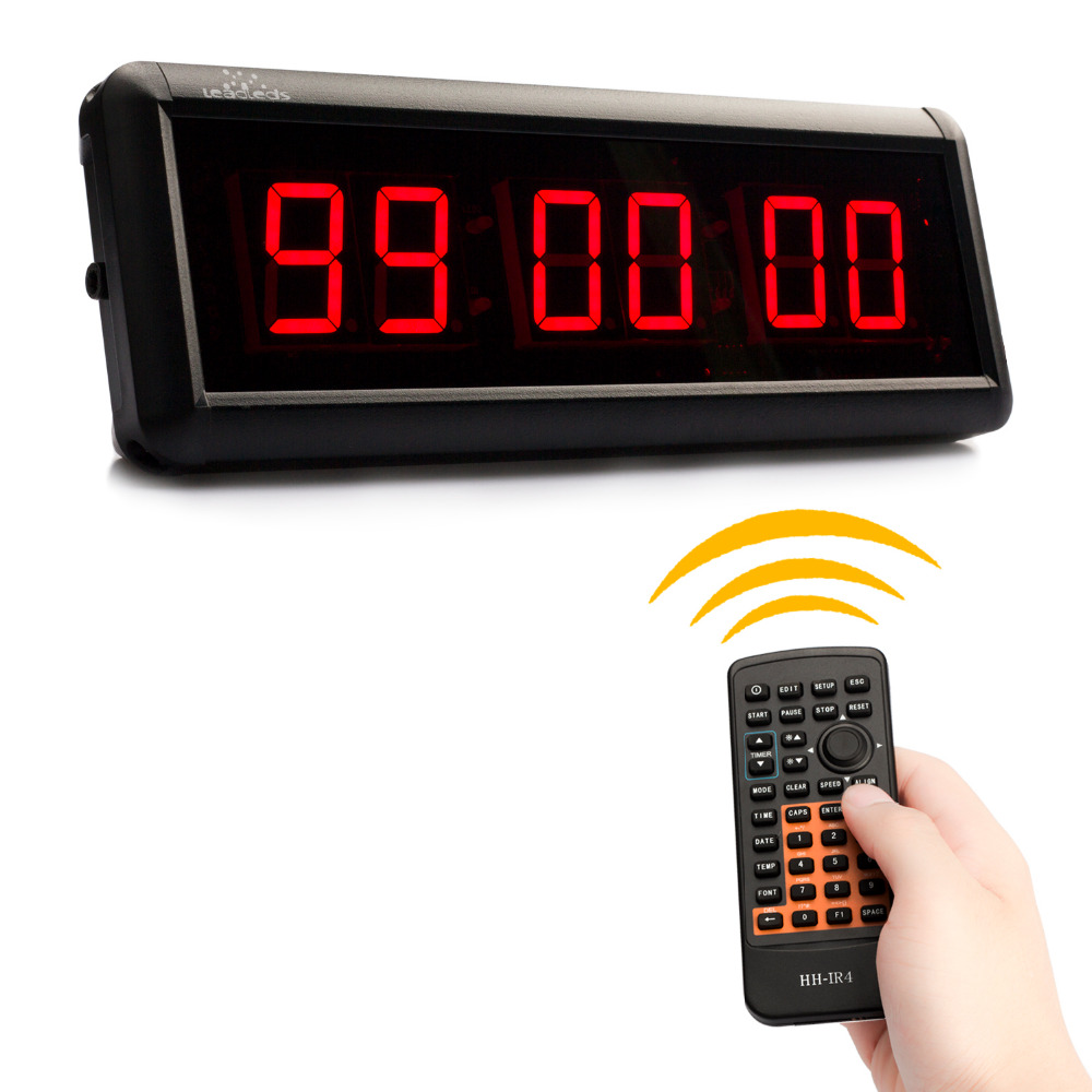 1.5 Led Display Hh Mm Ss Countdown Clock Count Timer