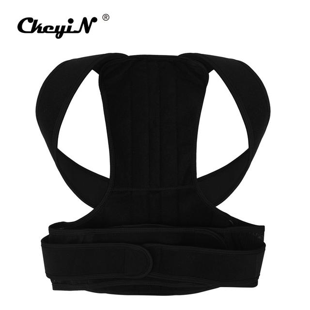 ajustable Corsé Corrector de postura magnético ajustable Unisex soporte de cinturón de espalda