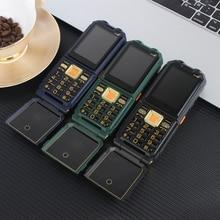 4 sim card del telefono Dual Torcia Elettrica FM Lungo Standby Accumulatori e caricabatterie di riserva Rugged Outdoor Telefono Antiurto Grande Voce Cellulare xp9000