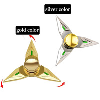 Drop Shipping OW Watch Over Genji Dart Cosplay Genji Shuriken Metal Hand Spinner For Children Kids