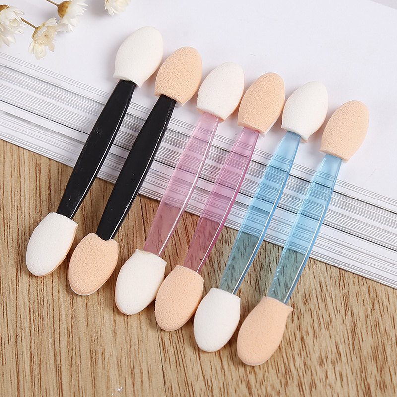 Sponge Applicator-Tool Eyeliner-Brush Makeup Cosmetic Eye-Shadow Beauty Double-End Women
