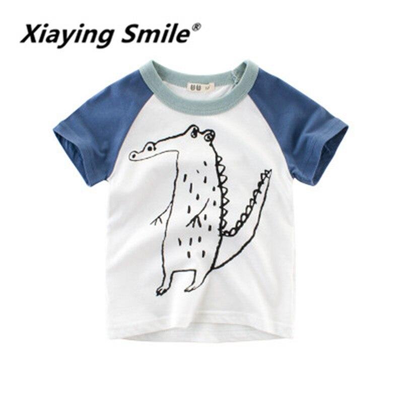 XIaying Lächeln Kinder Sommer Kinder Jungen Kurzarm T-shirt Kinder Kleidung der Chaobao kleidung kann whole