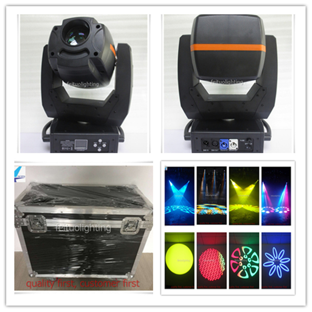 2 pcs with road case big dipper moving head 300w led moving head spot