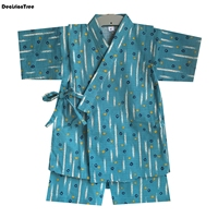 2019 new fruits suits boys pajamas baby printed pijamas sets pyjamas cotton and linen children clothing set kids sleepwears