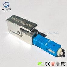 จัดส่งฟรีFiberหน้าแปลนไฟเบอร์สแควร์ประเภทSC Bare Fiberอะแดปเตอร์SC Bare Fiber Adapter