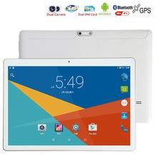 Бесплатные DHL ZDX Телефонный Звонок 10 Дюймов Tablet pc 2 ГБ RAM 16 ГБ ROM Android 6.0 3 Г Android Quad Core WiFi FM IPS LCD 2 Г + 16 Г Таблетки Пк