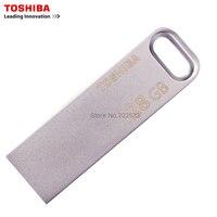 TOSHIBA U363 USB3.0 USB Flash Drive 128 GB 64 GB 32 GB de Metal À Prova D' Água Chaveiro Pen Drive Vara Pen driver de Dispositivo De Armazenamento Em Disco U