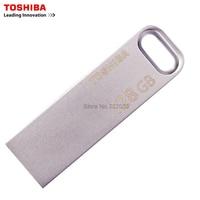 TOSHIBA USB3 0 U363 USB Flash Drive 128GB 64GB 32GB Metal Waterproof Pen Drive Key Ring