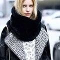 [AETRENDS] Boa Qualidade Faux Pele De Coelho Gola Cachecol Anel Mulheres Inverno Pescoço Círculo Lenços Acessórios de Vestuário Z-2121 Dirl