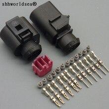Shhworld Sea 1 комплект 6 Pin 1,5 мм водонепроницаемый разъем дроссельной заслонки элемент управления для VW Audi разъем 1j0973802 1J0973713