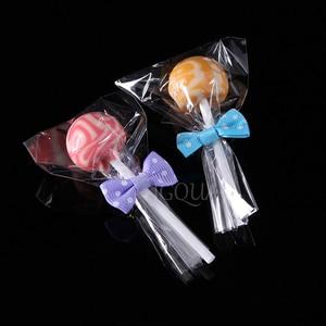 Image 2 - ברור פתוח למעלה פלסטיק שקיות קוקי סוכריות צעצוע תכשיטי מזון אריזת תיק חג המולד מסיבת יום הולדת DIY פאוץ פולי OPP מתנת תיק
