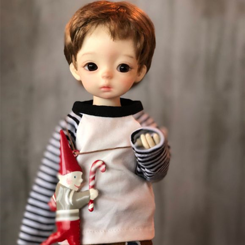 2019 New Arrival 1/6 BJD Doll BJD / SD Cute Lovely For Baby Girl Birthday Gift Present With Eyes Free Shipping