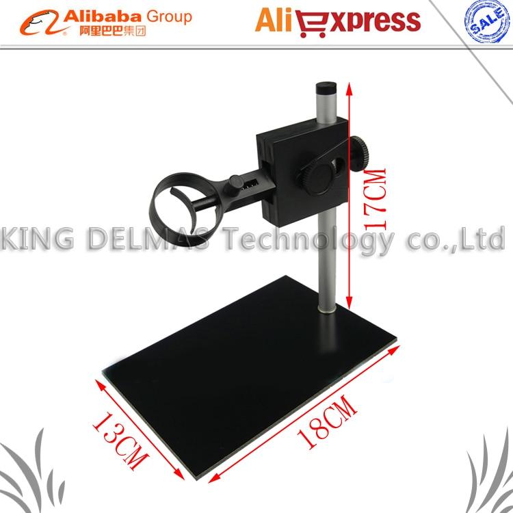 1000X 800X 500X 200X Microscopio Digitale USB Supporto Universale Regolabile Può Salire e Scendere Can Sterzo