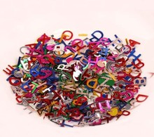 10g/ DIY clothing accessories handmade jewelry accessories Christmas decoration Festivals 9mm English sequins