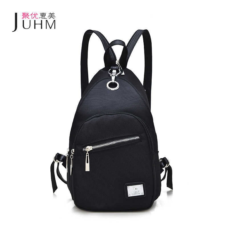 JUHM Brand New Women Backpack Black Waterproof Oxford School Bag Cheap Backpacks Women Fashion Travel Backpack Mochila Feminina go meetting fashion women waterproof oxford backpack famous designers brand shoulder bag leisure travel backpacks for girl