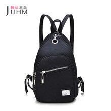 JUHM Brand New Women Backpack Black Waterproof Oxford School Bag Cheap Backpacks Women Fashion Travel Backpack Mochila Feminina