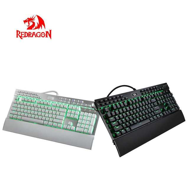 US $73 06 38% OFF|Redragon Town Soul K550 Backlight 108 keys Game Cool Rgb  Color Disassembly Hand Support Blue Switch Mechanical Keyboard-in Keyboards