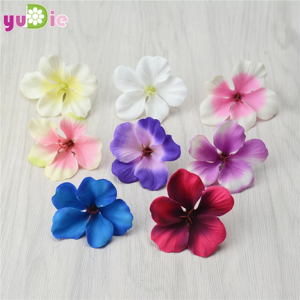 20pcs Spring Silk Gradient Orchid Artificial Flower For Wedding Home Decoration Orchis Mariage Flores Cymbidium Flowers Plants