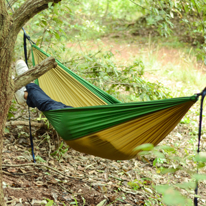 Image 4 - Acehmks Aluminum Alloy Snap Hammocks For 2 Person Sleeping Bed Outdoor Camping Swing Portable Ultralight Design 300*200 CM