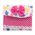 Girl Sanitary Napkins Pads Women Pouch Small Mini Polka Dot Storage Box Bag Small Articles Gather Pouch Case Bag
