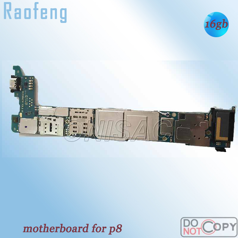 Raofeng for Huawei P8 WCDMA-VERSION Disassembled Whole-Function Mainboard with Chips title=