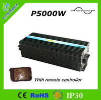 CE RoHS Approved 5000w 5kw Car Inverter High Power One Year Warranty