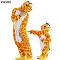 Pijamas de franela niños niñas niños clothing trajes a juego de las mujeres ropa de dormir pikachu panda familia hogar pareja pijama