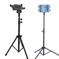 New Universal Multi direction Floor Stand Tablet Tripod Mount Holder For 7 10 Inch iPad Mini Air Samsung DOM668