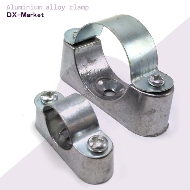 Mm pcs lot aluminium alloy saddle clamp cable
