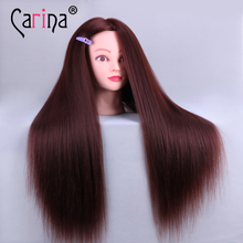 100% real human hair hairdresser cosmetology silicone practice training mannequin manikin head doll with mount hole Promotions Hairdresser Training Head Hairdressing Practice Training Mannequin Doll Head 100% Real Human Hair with Free Clamp