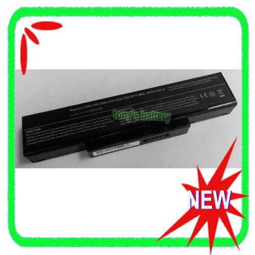 BTY M66 SQU 528 Battery For MSI M655 M660 M662 M670 M677 CR400 PR600 PR620 GX400 GX600 GX610 GX620 Laptop