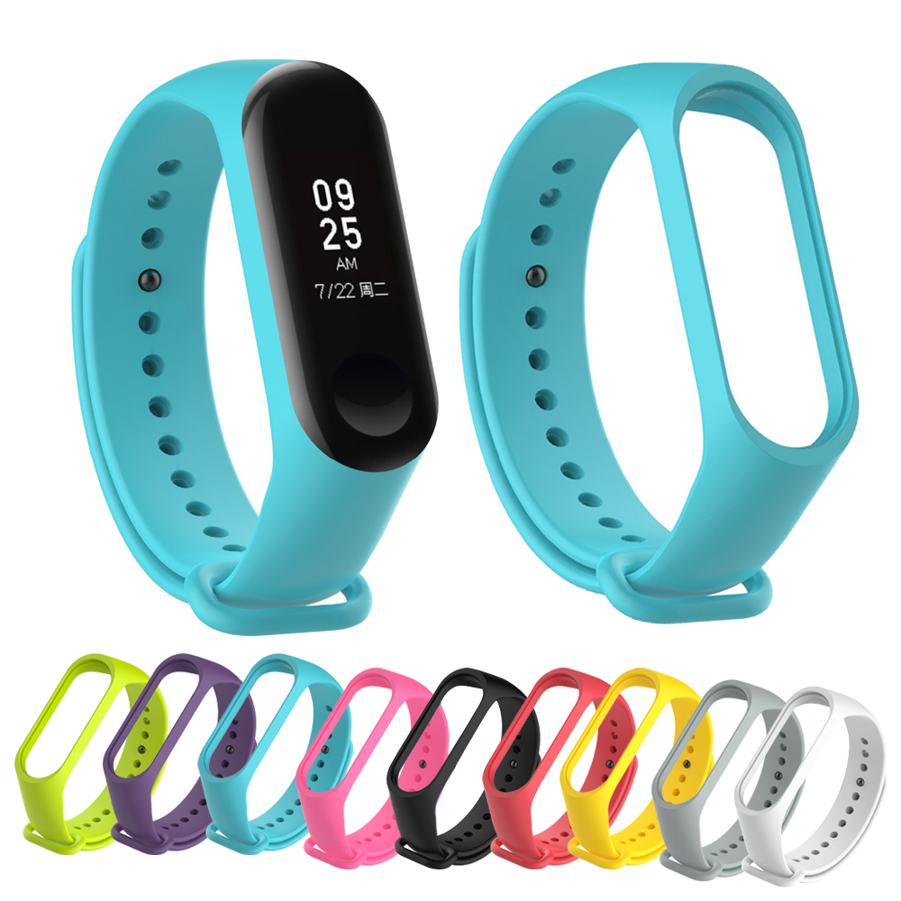 Strap For Xiaomi Mi Band 3 Smart Band Accessories For Xiaomi Miband 3 Smart Wristband Strap For Xiaomi Mi Band 3