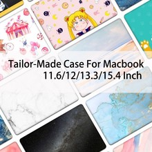 New Customize For Macbook Air 13 Cover Case For Apple Macbook Air Pro Retina 11 12 13.3 15.4 Inch Laptop Sleeve Notebook Case все цены