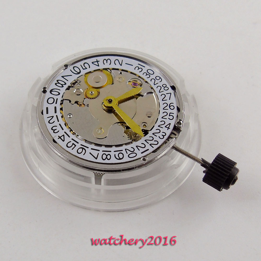New Classic vintage Shanghai automatic mechanical parnis movement clone eta 2824 movement
